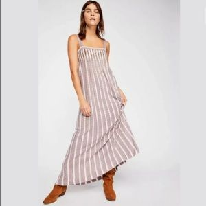 NEW Free People Rain Shadow Knit Maxi Dress XS